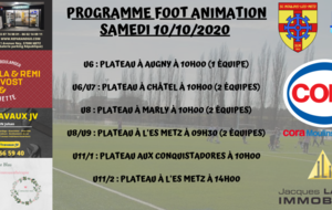 Programme FOOT ANIMATION